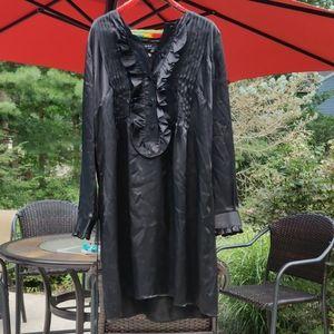 Dresses & Skirts - Black silk dress